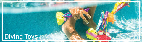 Swimming Pool Toys for Diving ranging from Sharpedos, Toypedos, Hatchimal Diving toys and more