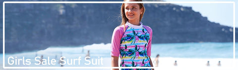 Surf suits for the girls at discount prices. Make sure you filter the sizes you need so that you see what styles are available for you in them