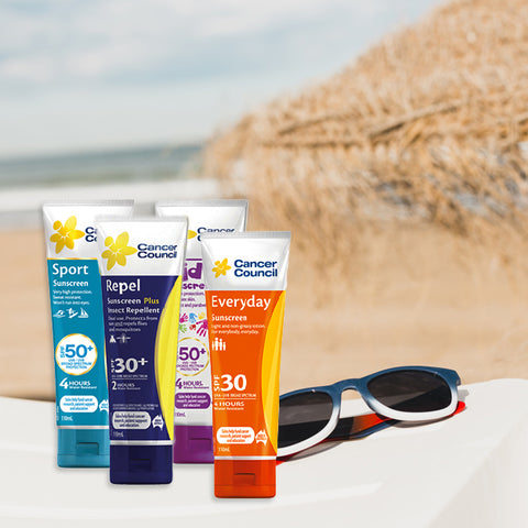 Cancer Council SPF 30+ and SPF 50+ Sunscreen