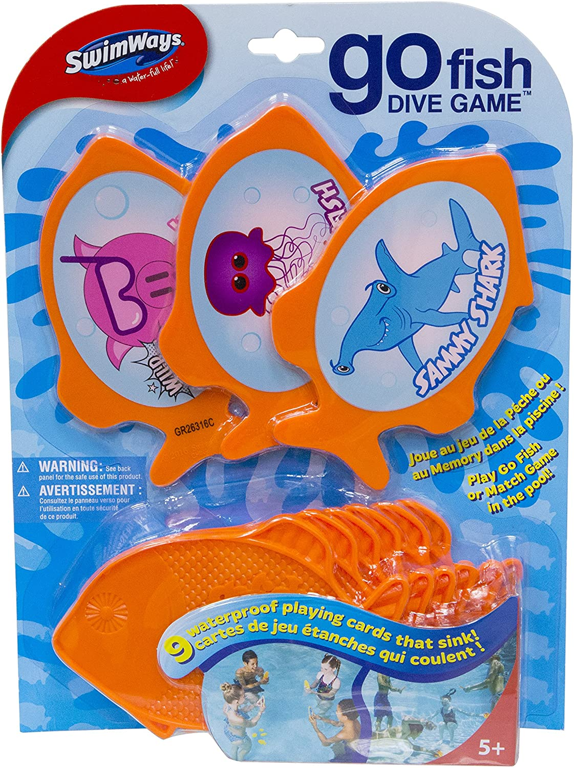 Swimway Go Fish Dive Game