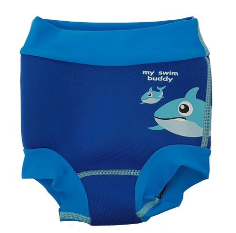 Watercolor Swim Diaper Thermal