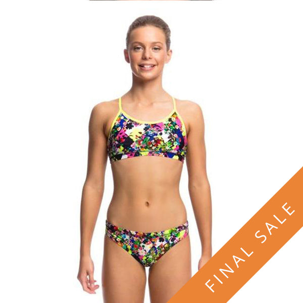 Funkita Girls Racerback Two Piece D-P FS02G- Princess Cut