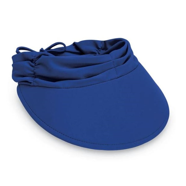 Wallaroo Hats Aqua Visor Women's Hat AQU- Royal Blue