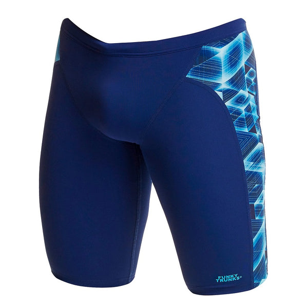 Funky Trunks Mens Training Jammer D-P FT37M- Another Dimension
