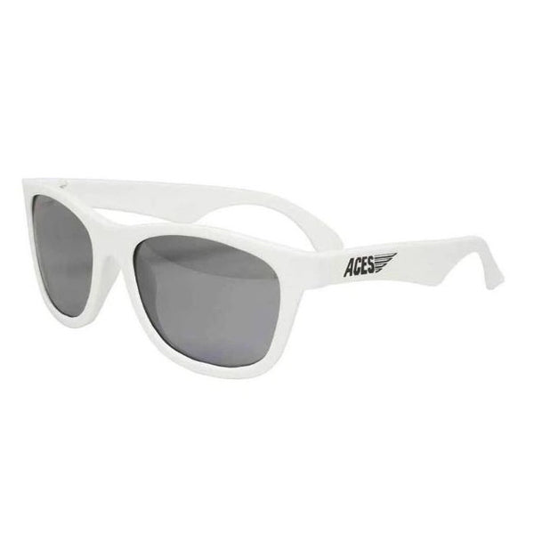 Babiators Navigators Sunglasses 3-5 yr NAV 012- Wicked White