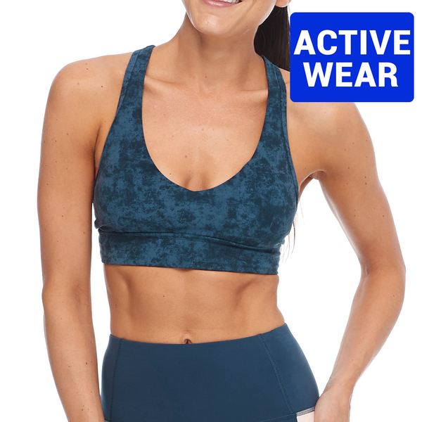 Body Glove Adagio Sport Bra 29-067704- Equanimity Full Moon