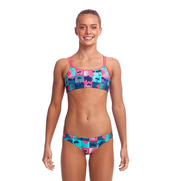 Funkita Criss Cross Two Piece FS33G- Club Tropicana