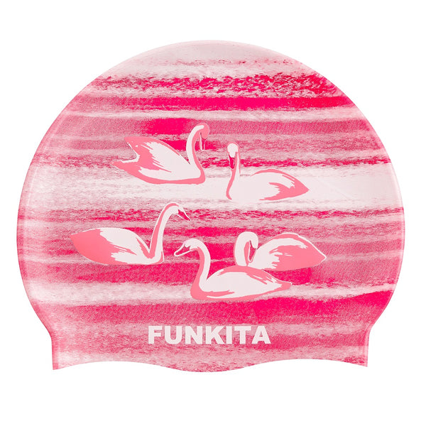 Funkita Swimming Cap FS99- Swan Lake