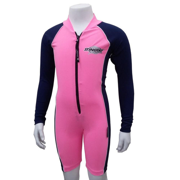 Stingray Raysuit Long Sleeves ST3001L- Pink/Navy