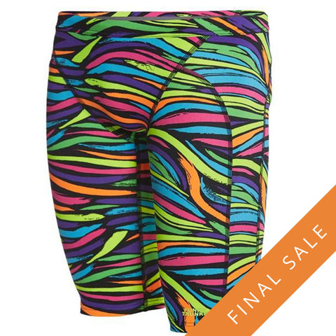Funky Trunks Men's Training Jammer FT37M- Cosmic Comet Aop