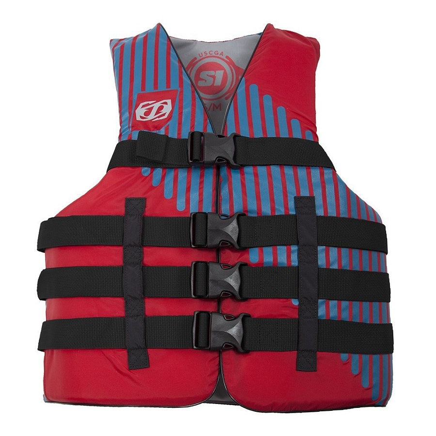 JetPilot Adult Swim Vest S1 JP17215- Red