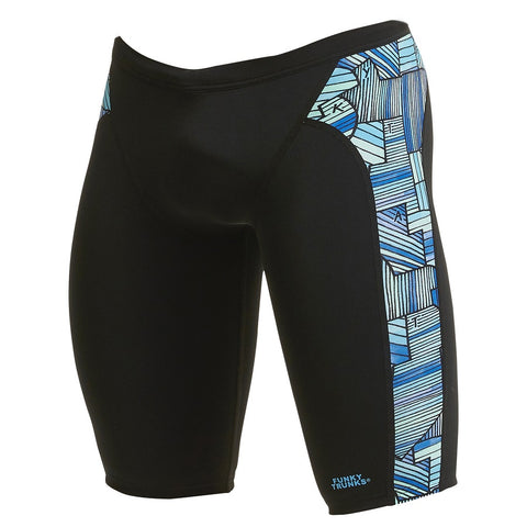 Funky Trunks Mens Training Jammer FT37M- Land Grab