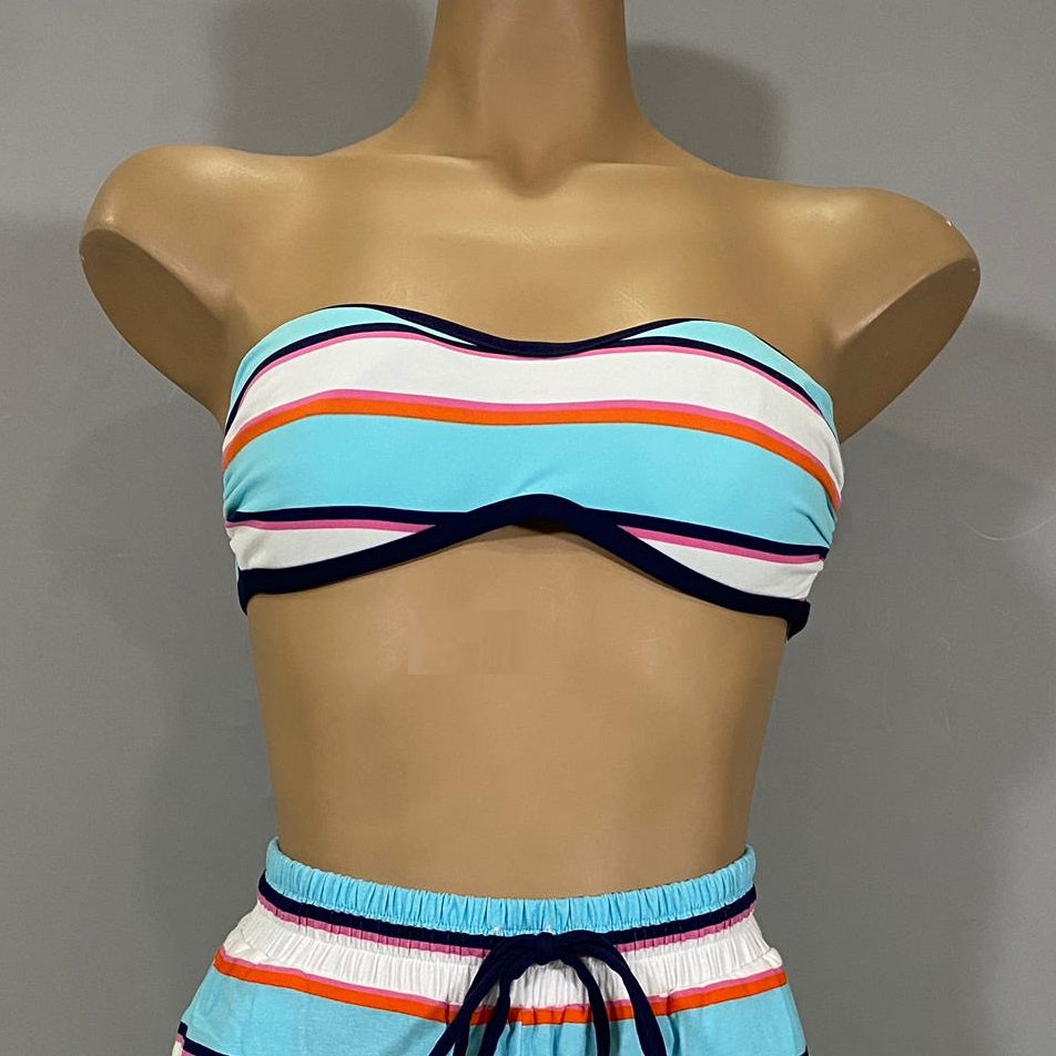 Tommy Bahama Reversible Bandeau Top 91300T-RS-MU