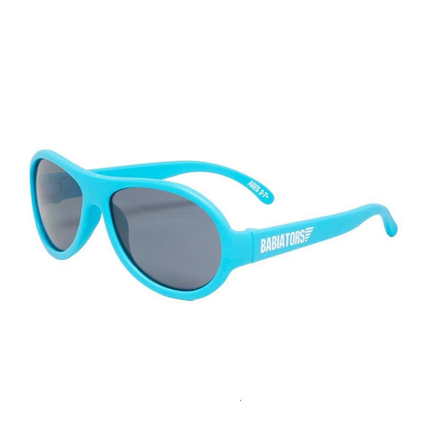 Babiators Aviators Sunglasses Classic 3-5 Yr BAB 018- Beach Baby Blue