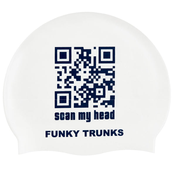 Funky Trunks Swimming Cap FT99- Scan My Head