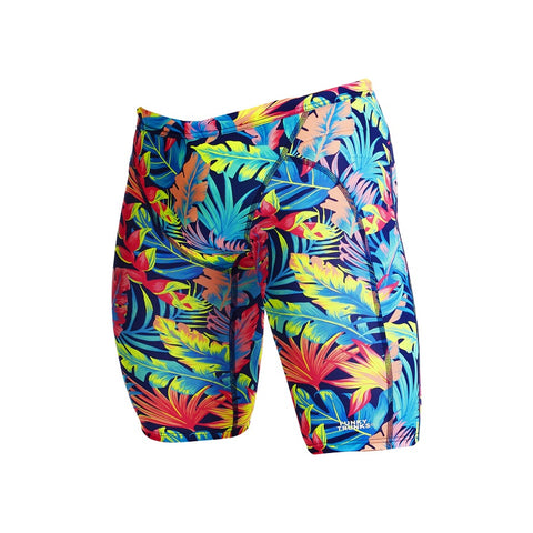 Funky Trunks Mens Eco Training Jammers FTS003M- Palm Off