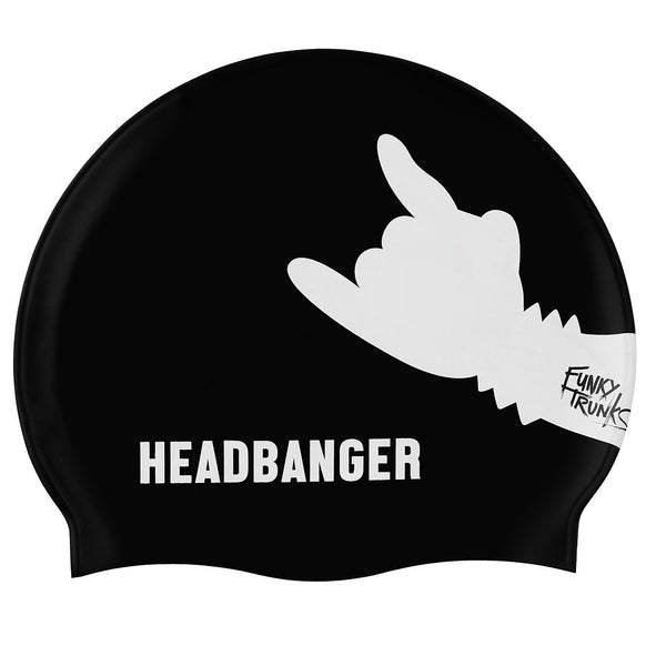 Funky Trunks Swimming Cap FT99- Headbanger
