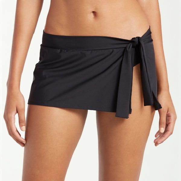Tommy Bahama Skirted Hipster TSW31038B- Pearl Solids Black