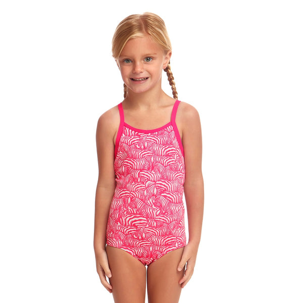 Funkita Toddler Girl Eco One Piece FKS022G- Painted Pink