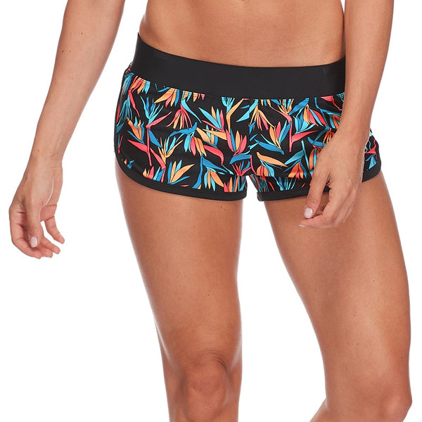 Body Glove CrossOver Pulse Pull On Shorts 29-478660- Hang Loose