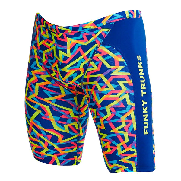 Funky Trunks Mens Training Jammer FT37M- Noodle Bar