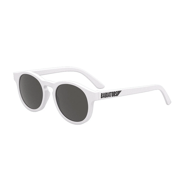 Babiators Original Keyhole Sunglasses Jr 0-2 Yr KEY-010 - White