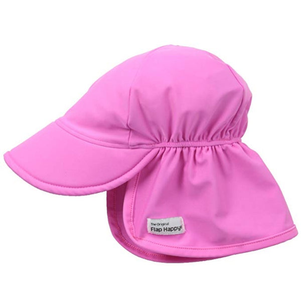Flap Happy FHU Upf 50+ Swimflap Hat- Azalea Pink