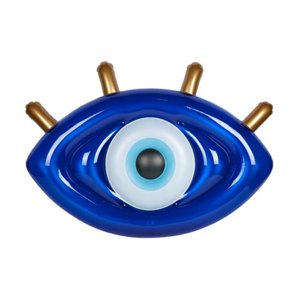 Sunnylife Luxe Lie-On Float S0LLIEGE- Greek Eye