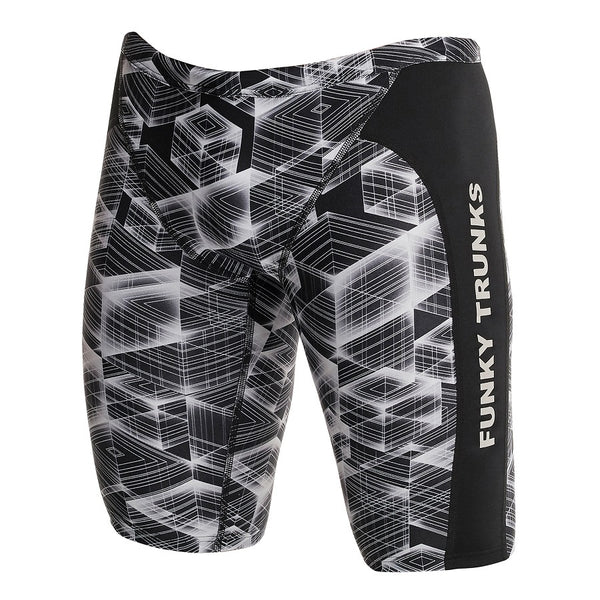 Funky Trunks Mens Training Jammer D-P FT37M- Black Hole