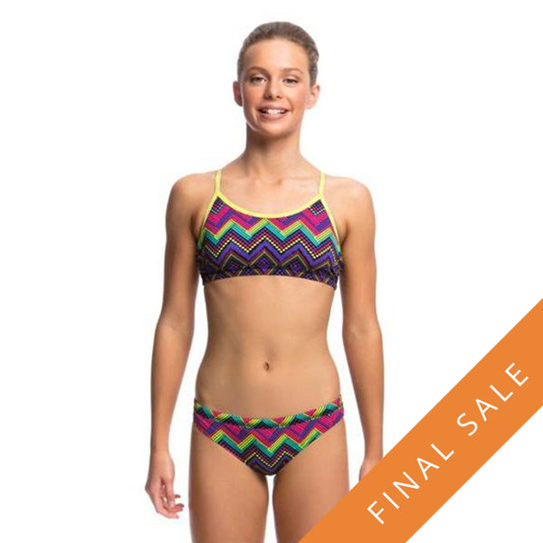 Funkita Girls Racerback Two Piece FS02G- Knitty Gritty
