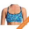 Funkita Women's Sports Top FS02L- Ice Attack