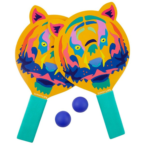 Sunnylife Tiger Kids Beach Bats S0WBATTI