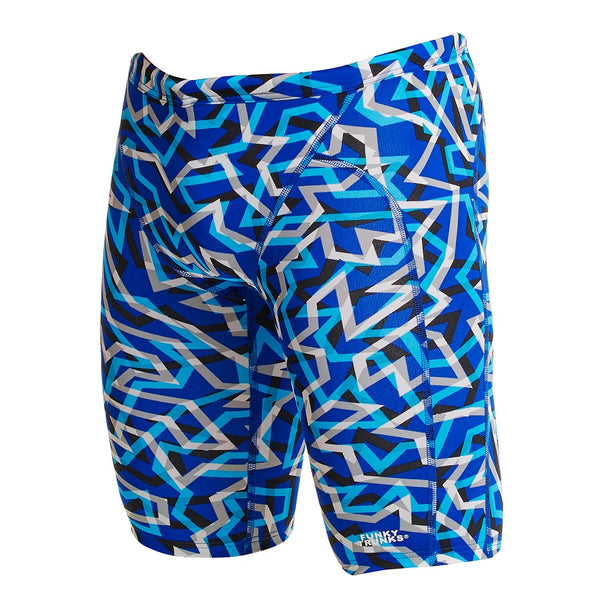 Funky Trunks Mens Training Jammer FT37M- Ticker Tape