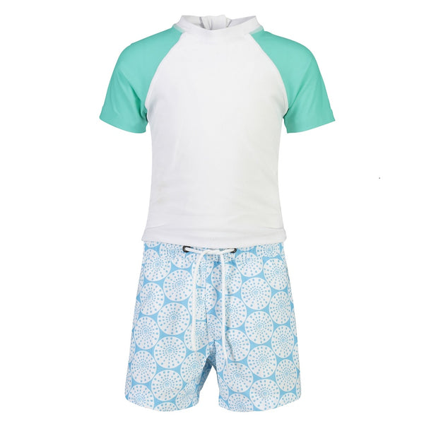 Snapper Rock Baby Set Sustainable Short Sleeve B50002- Oceania Sustainable