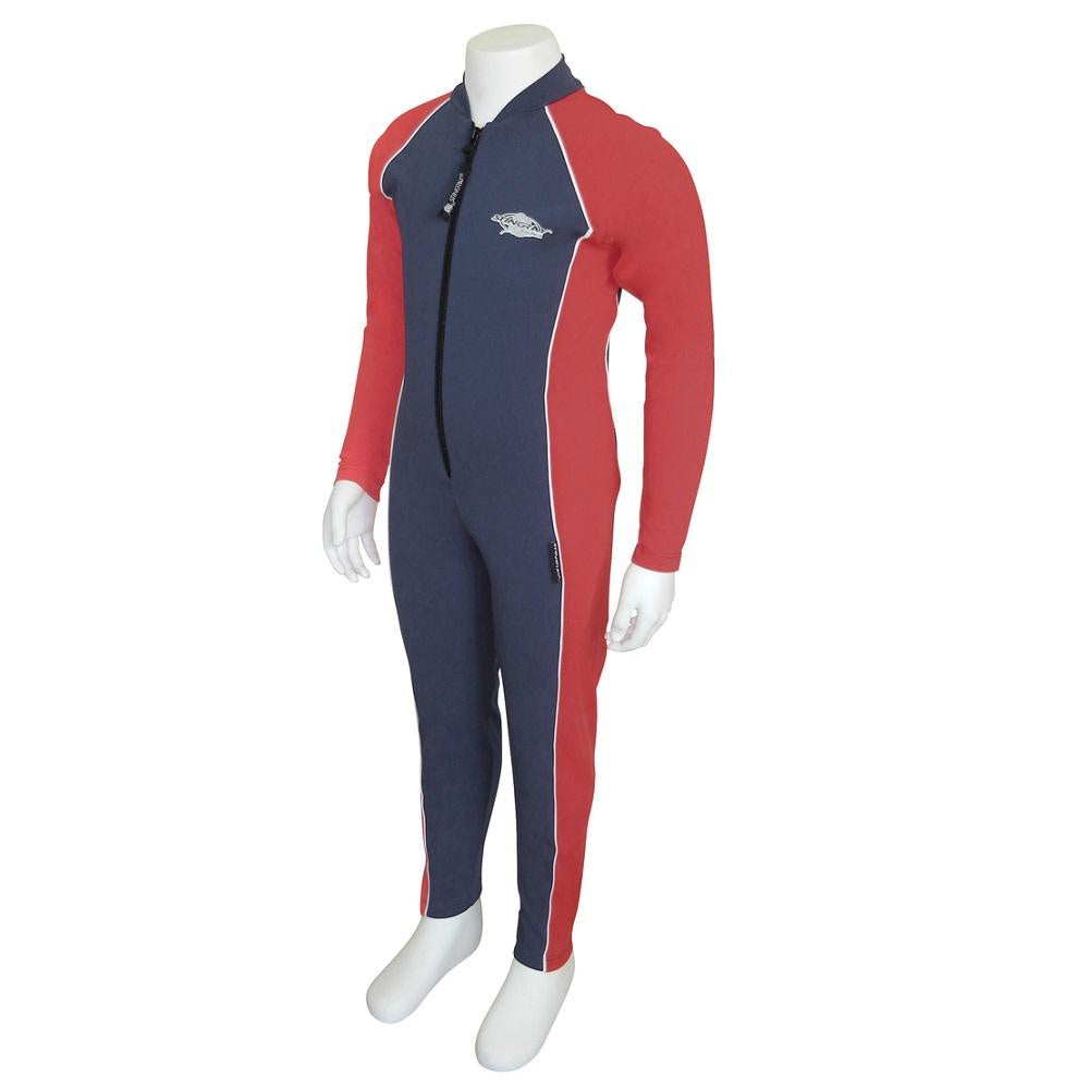 Stingray Raysuit Long Sleeves ST2008- Navy/Red