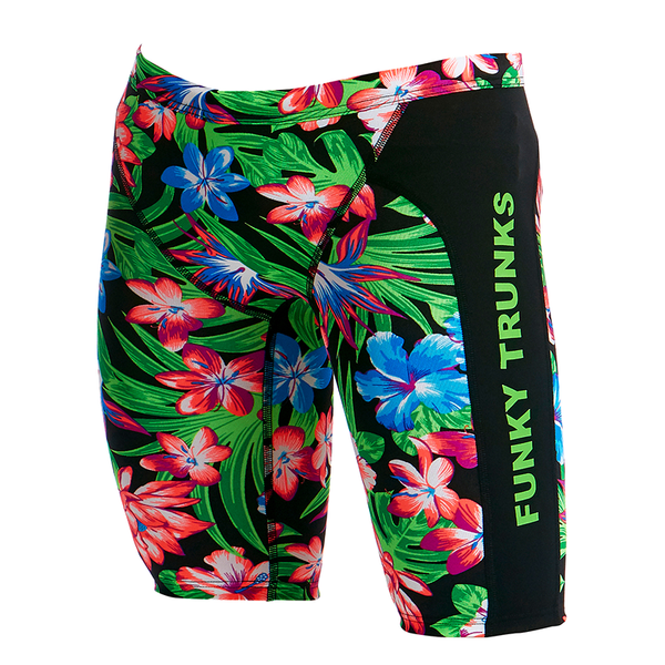 Funky Trunks Boy's Training Jammer FT37B- Tropic Rocket