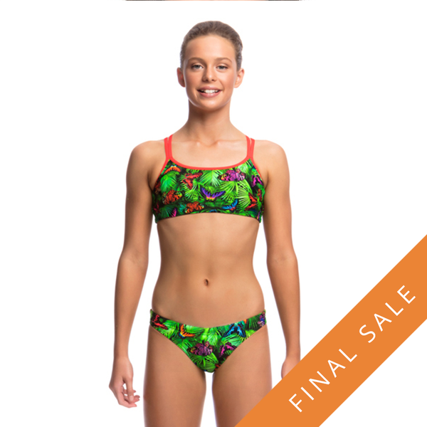 Funkita Girls Criss Cross Two Piece D-P FS33G- Pretty Fly