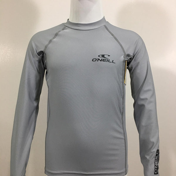 O'Neill Youth Basic Skin Crew Long Sleeve RG334620COO- Cool Grey