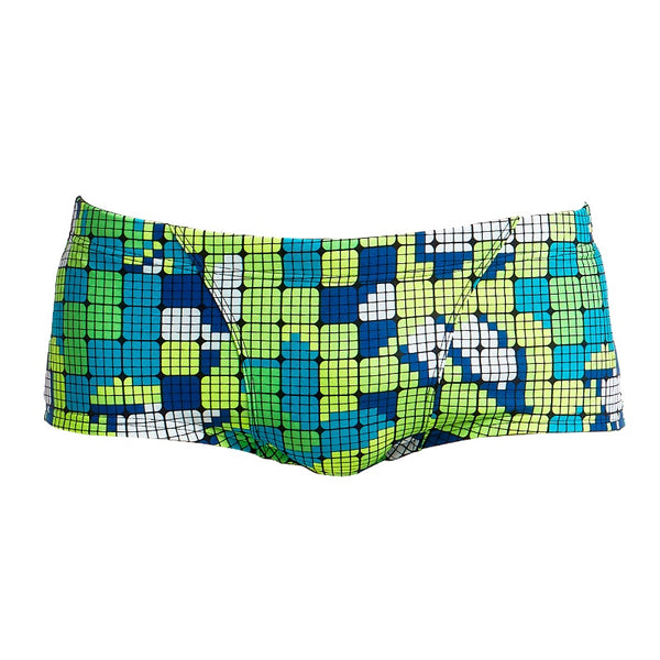 Funky Trunks Mens Classic Trunk FT30M- Glow Rider