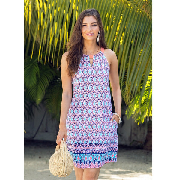 Cabana Life Sleeveless Dress 597-SB20- St. Barts