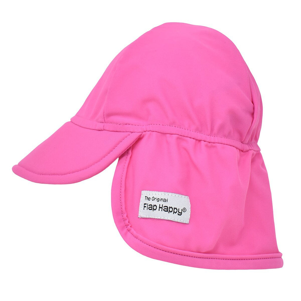 Flap Happy Eco Swim Flap Hat FHUB- Azalea Pink