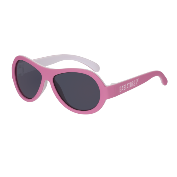 Babiators Original Two Tone Sunglasses Jr 0-2 Yr BAB 205- Trickled Pink