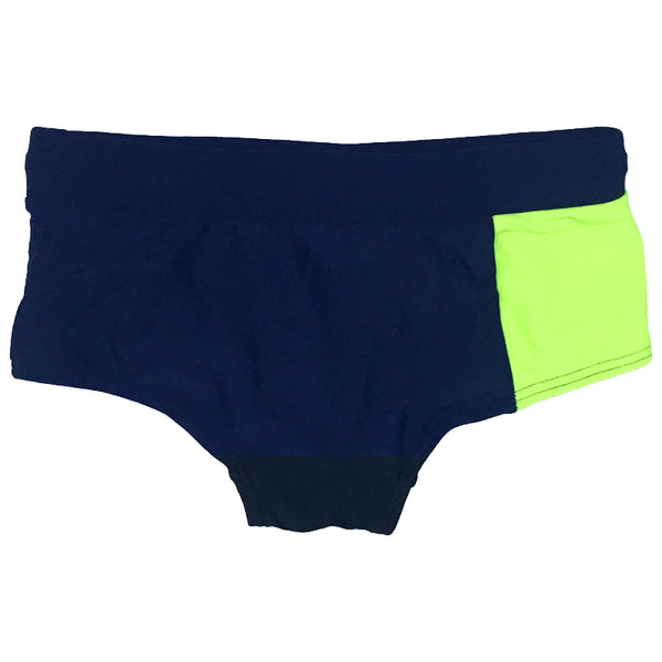 Aqua Blu Kids AB8046BB Retro Trunks-Stepping Shores