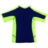 Aqua Blu Kids AB8047BB Rash Vest Short Sleeve- Stepping Shores