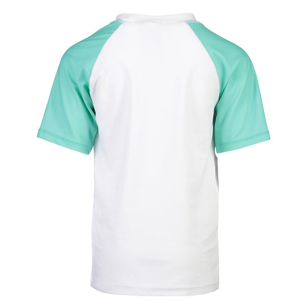 Snapper Rock Rash Top Sustainable Short Sleeves B10111S- Solids
