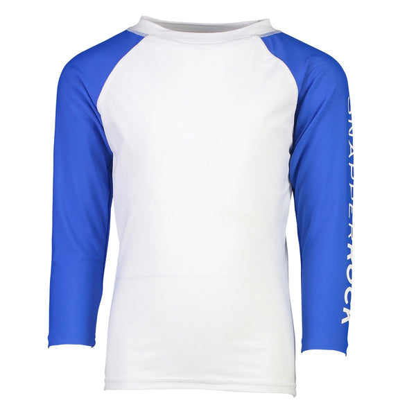Snapper Rock Rash Top Long Sleeves B20067L- Solids