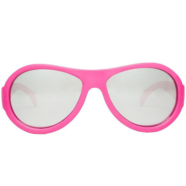 Babiators ACE 005 Aviators Mirrored Sunglasses >6 Yr- Popster Pink