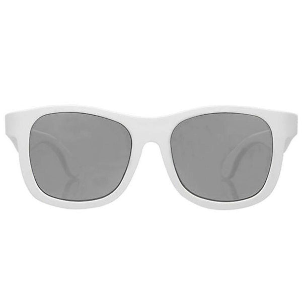 Babiators NAV 012 Navigators Sunglasses 3 to 5 yr- Wicked White