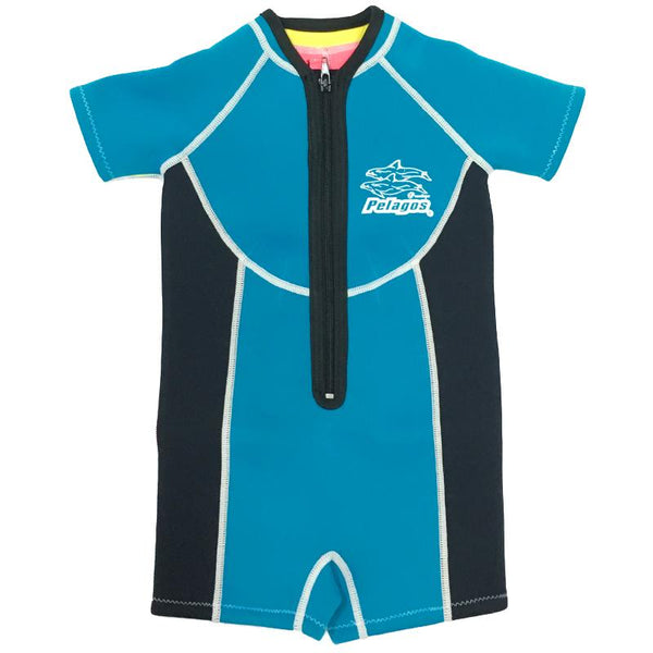 Pelagos Boys Neoprene Thermal Suit- Blue