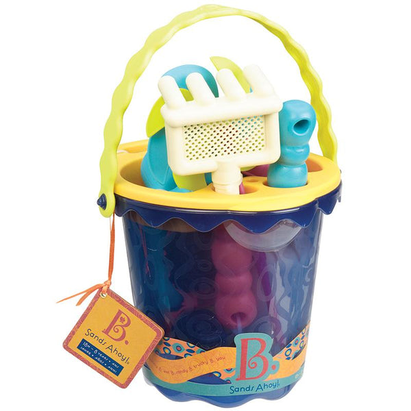 B.Toys BX1330Z Medium Bucket Set >18Mth-Navy